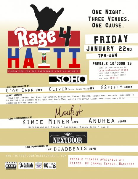 Rage 4 Haiti